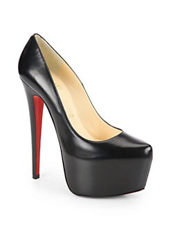 Christian Louboutin - Daffodile Leather Platform Pumps