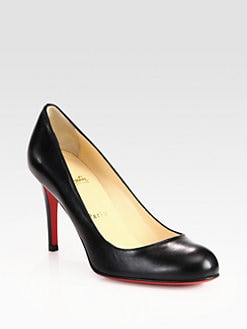Christian Louboutin - Simple 85 Leather Pumps