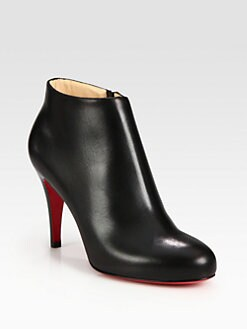 Christian Louboutin - Belle Leather Ankle Boots