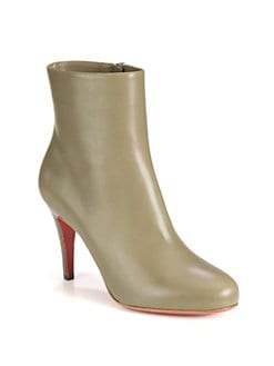 Christian Louboutin - Bello Leather Ankle Boots