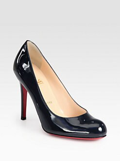 Christian Louboutin - Simple 85 Patent Leather Pumps