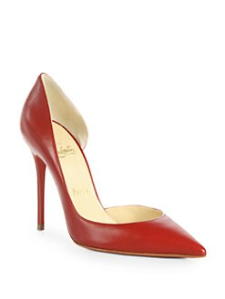 Christian Louboutin - Iriza Leather d'Orsay Pumps