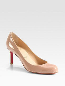 Christian Louboutin - Simple 70MM Patent Leather Pumps