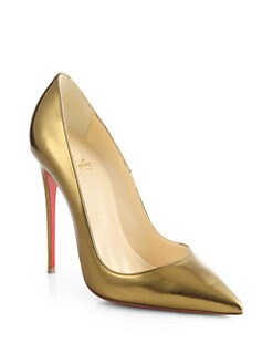Christian Louboutin - So Kate Specchio Leather Pumps