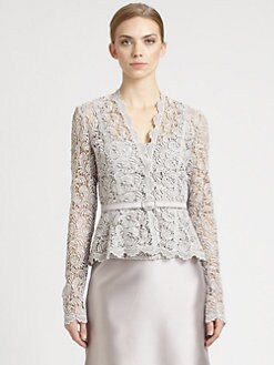 Carmen Marc Valvo - Lace Jacket