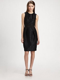 Carmen Marc Valvo - Jacquard Dress
