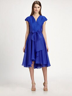 Carmen Marc Valvo - Silk Organza Dress