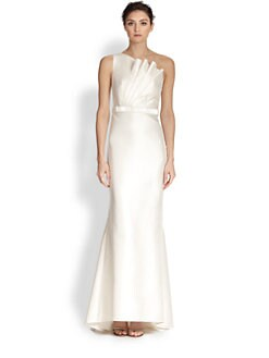 Carmen Marc Valvo - Asymmetrical Gown