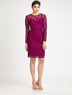 Carmen Marc Valvo - Lace Dress