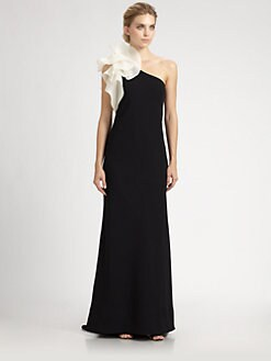 Carmen Marc Valvo - Flower Gown