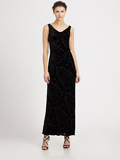 Carmen Marc Valvo - Beaded Devoree Gown