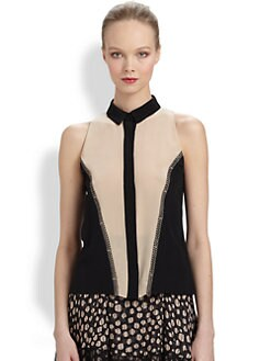 Jason Wu - Colorblock Top