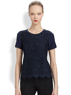 Jason Wu - Layered Lace Tee