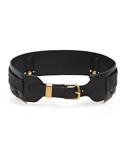 Prabal Gurung - Braided Leather Belt