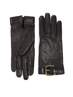 Prabal Gurung - Leather Buckle Gloves