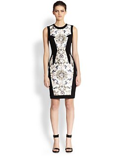 Prabal Gurung - Floral Panel Dress