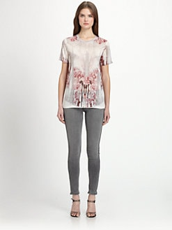 Prabal Gurung - Printed Crewneck Tee