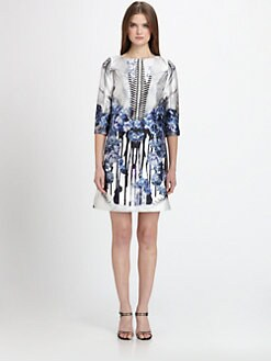 Prabal Gurung - Printed A-Line Dress