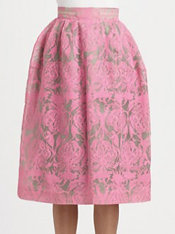 HONOR - Orchid Print Skirt