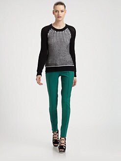 Jason Wu - Chunky-Knit Check Sweater