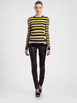 Jason Wu - Striped Silk Sweater