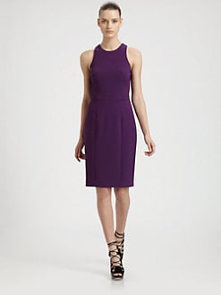Jason Wu - Stretch Wool Racerback Dress