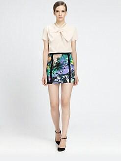 HONOR - копринена блуза Bow