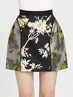 HONOR - Bourette Mini Skirt