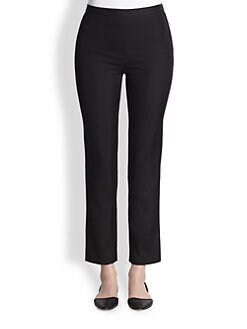 HONOR - Satin Canvas Skinny Pants