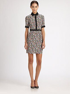 Jason Wu - Floral Silk Dress