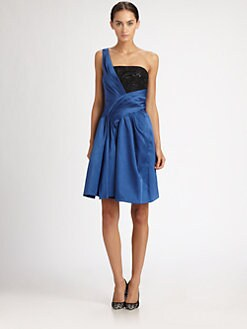 Jason Wu - Draped One-Shoulder Dress
