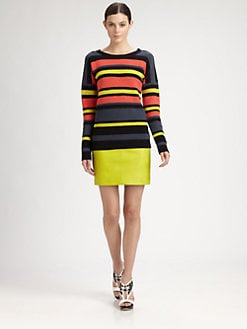 Jason Wu - Striped Crochet Sweater