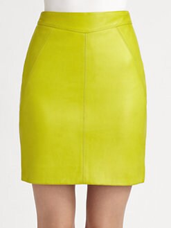 Jason Wu - Leather Pencil Skirt