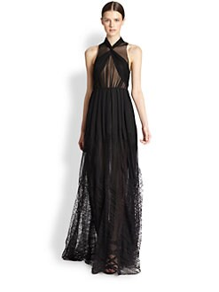 Jason Wu - Sheer Pleated Gown