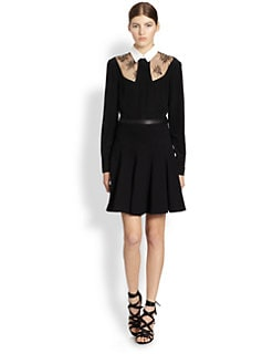 Jason Wu - Lace Cutout Combo Shirt