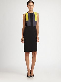 Jason Wu - Colorblock Jersey Dress