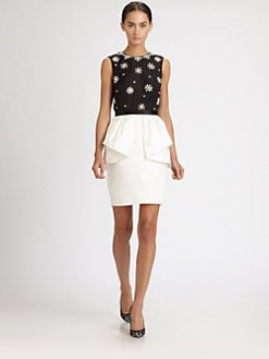 Jason Wu - Silk Peplum Dress