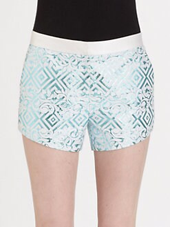 Prabal Gurung - Brocade Shorts