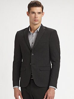 611 Saks Fifth Avenue New York - Ponte Knit Blazer