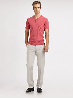 611 Saks Fifth Avenue New York - Cotton Dress Pant