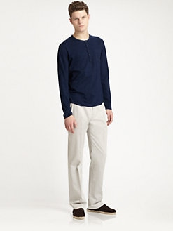 611 Saks Fifth Avenue New York - Cotton Henley