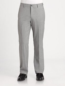Saks Fifth Avenue Men's Collection - Straight-Leg Dress Pant