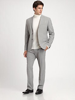 Saks Fifth Avenue Men's Collection - Two-Button Wool Jacket