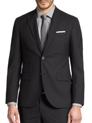 Modern-Fit Wool Sportcoat