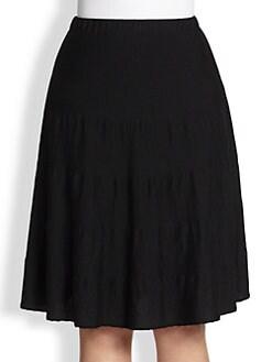 Stizzoli, Sizes 14-24 - Wool Swing Skirt