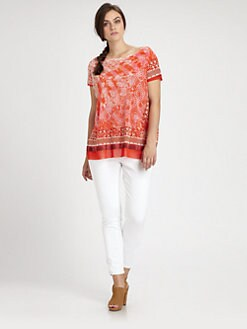 Fuzzi, Salon Z - Printed Top