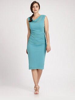 Fuzzi, Salon Z - Draped Dress