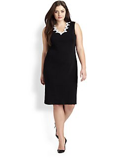 Stizzoli, Salon Z - Embellished Knit Dress