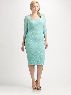 Fuzzi, Salon Z - Fitted Lace Dress