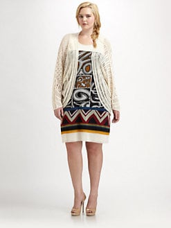 Fuzzi, Salon Z - Cotton Knit Jacket